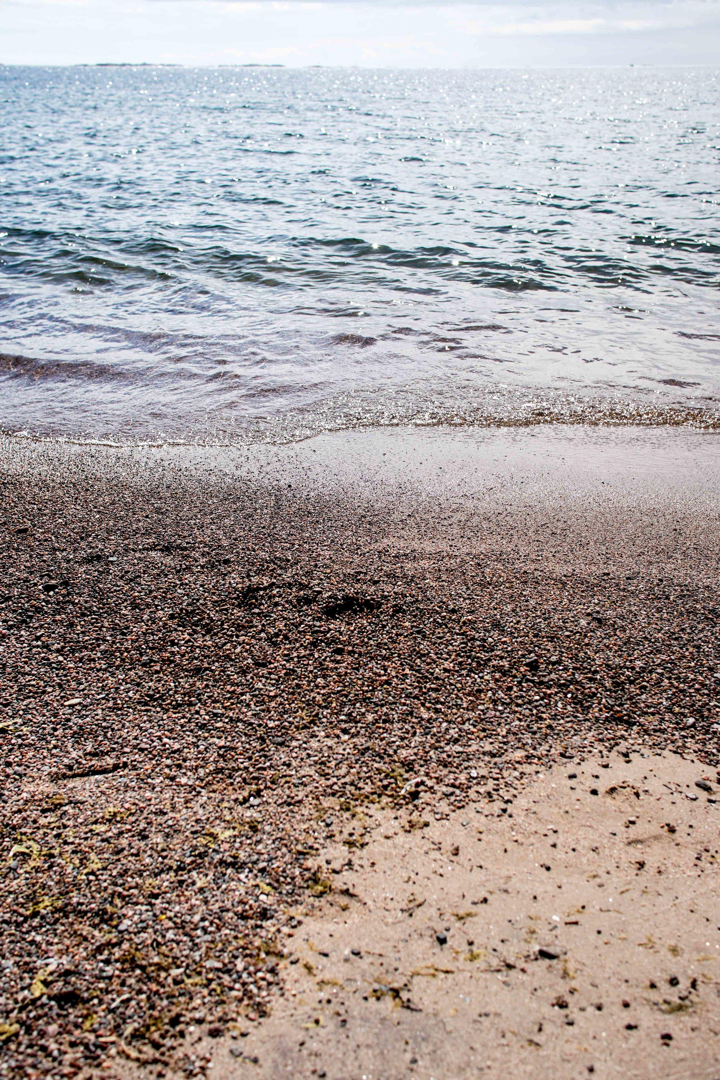 Tulliniemen rantahietikkoa <3