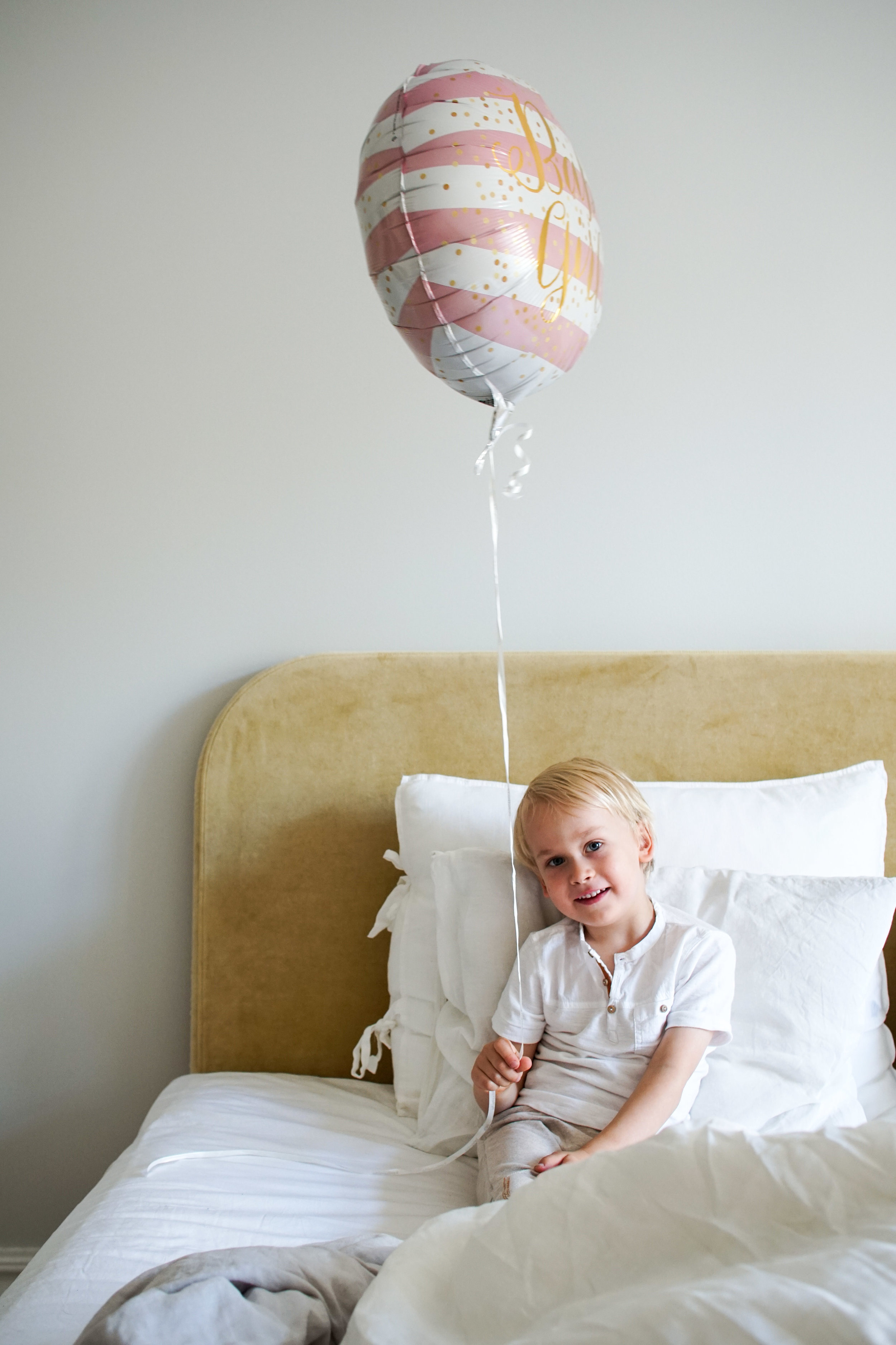 W on todella empaattinen lapsi, joten hänestä tulee varmasti maailman paras huolehtivainen isoveli <3