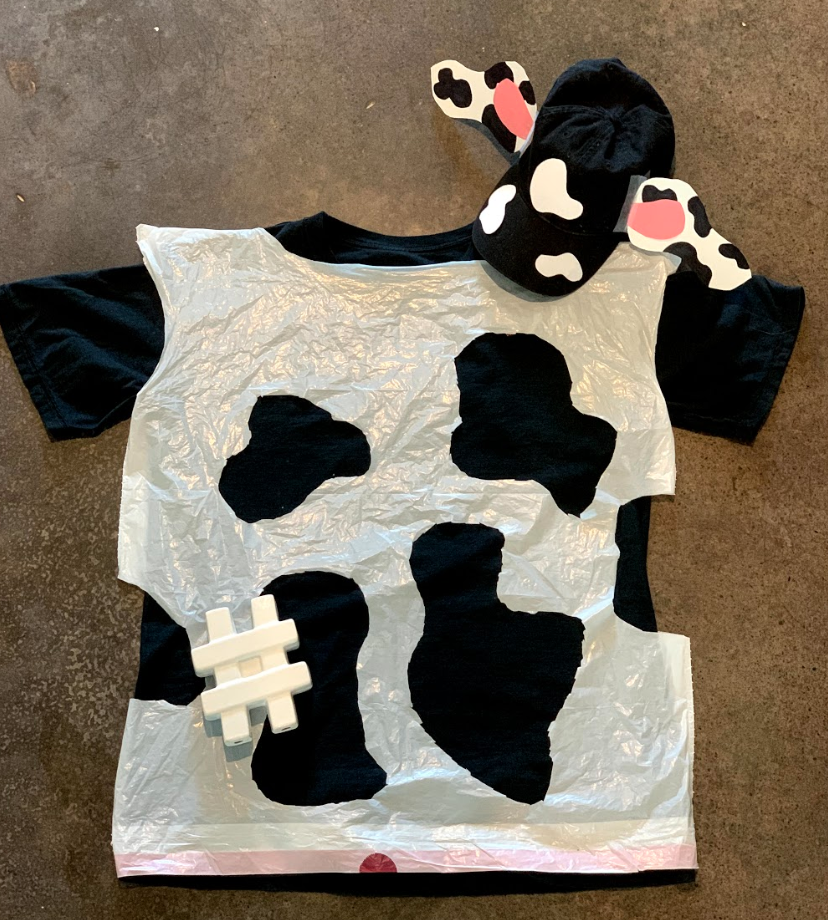 Cow costume how-to