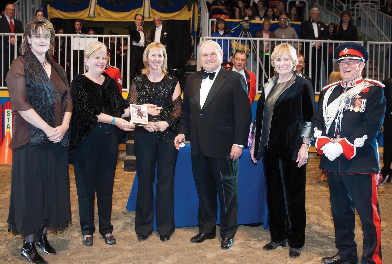 Dressage Canada Award in 2006.jpg