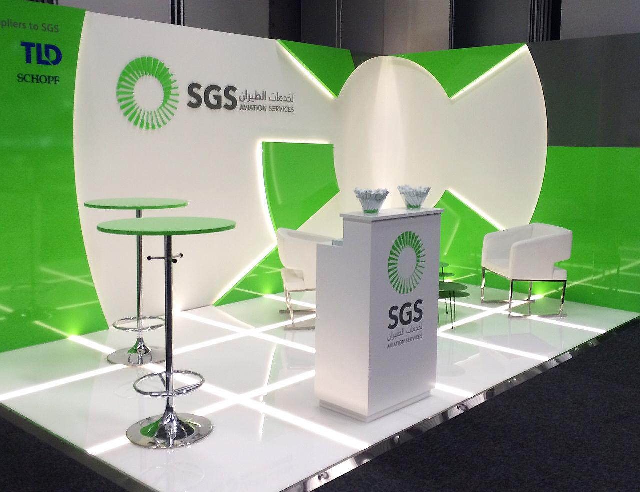 Saudi air Ground Services / Fair stand