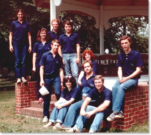 Production Staff circa 1983