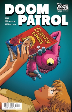 Young Animal is doing a great job.   Both Mark and Mindy are really enjoying this new Doom Patrol.