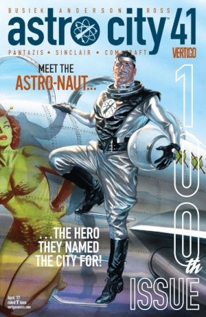 It would be hard to pick something besides Astro City, especially a nice long anniversary issue like this one.