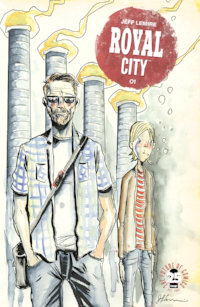 Really interesting new comic from Jeff Lemire.