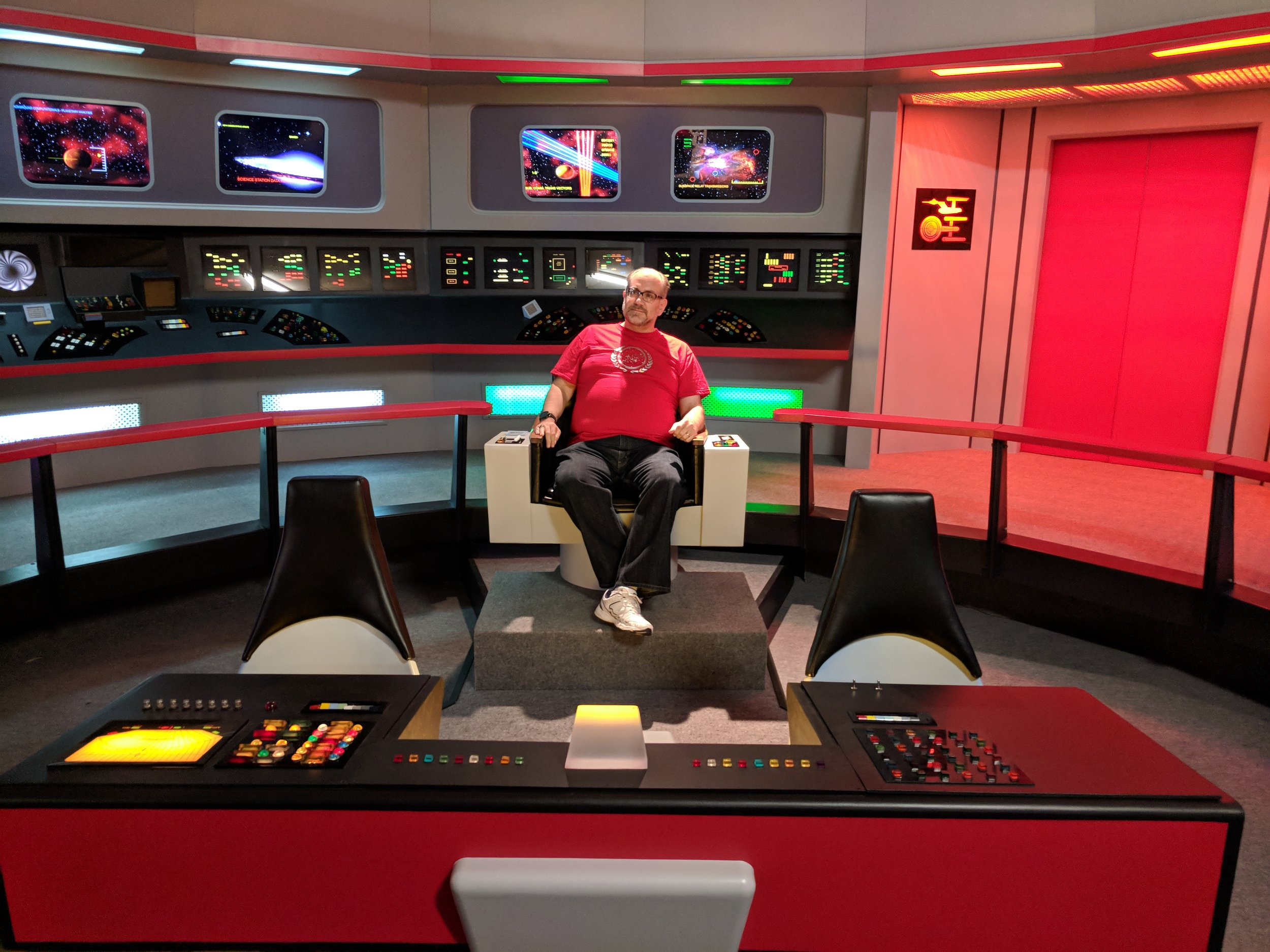 Captain's log…