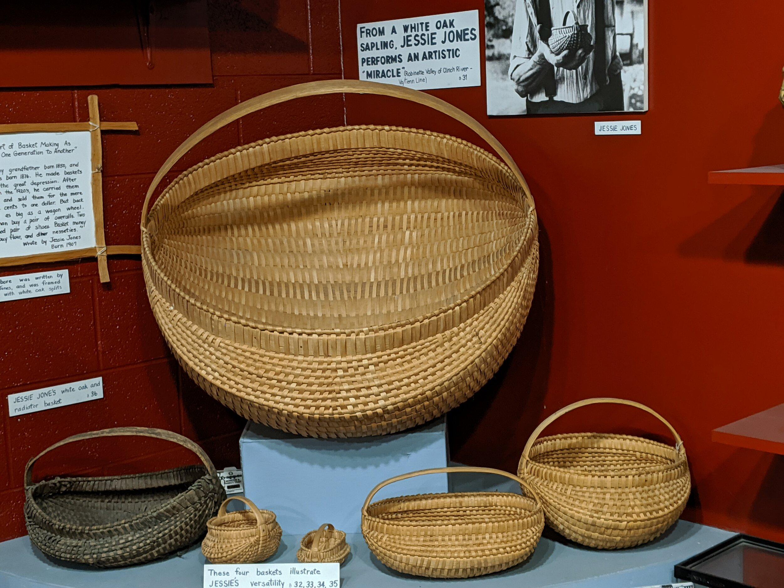 Some expert basketwork.