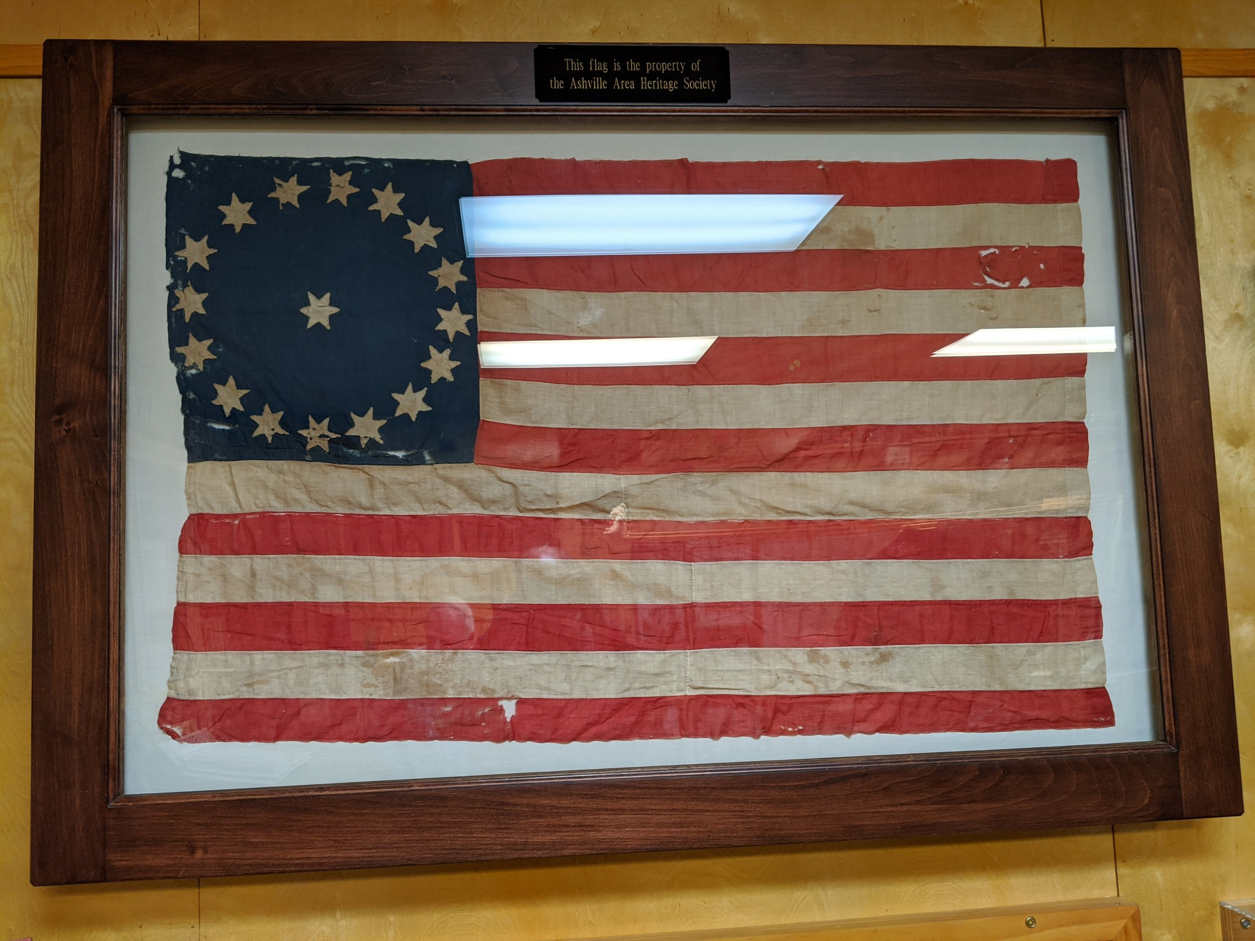 A flag from around the time Ohio became the 17tth state.
