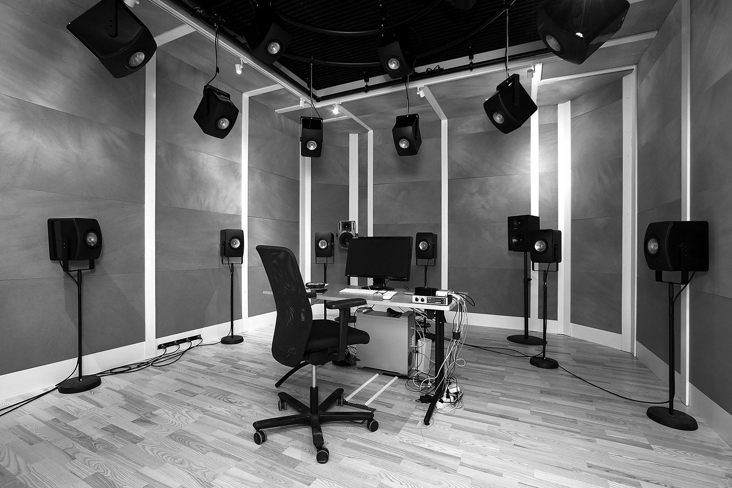 Ambisonics studio @Notam