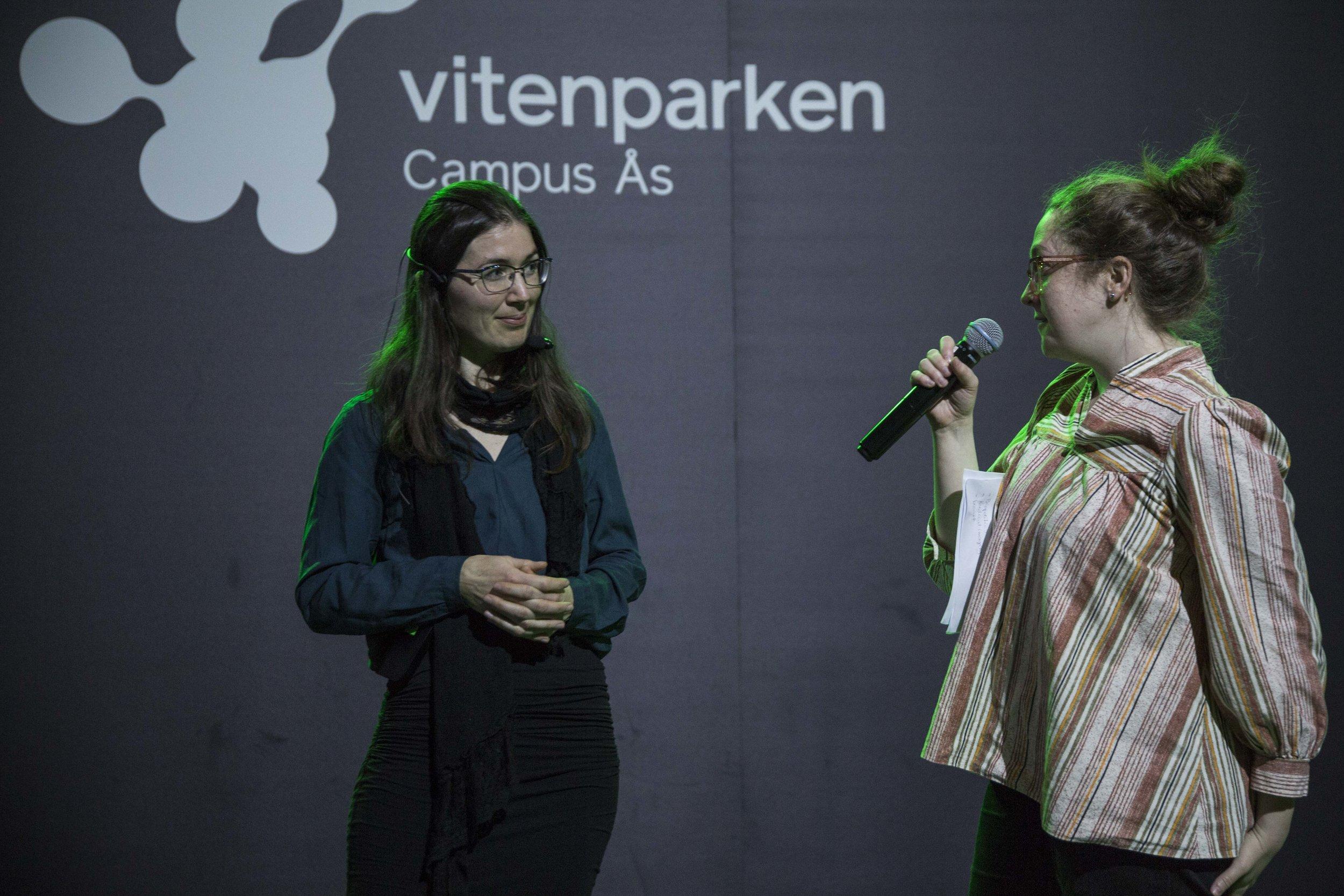 Nora Sørensen Vaage and  Elise Matilde Lund