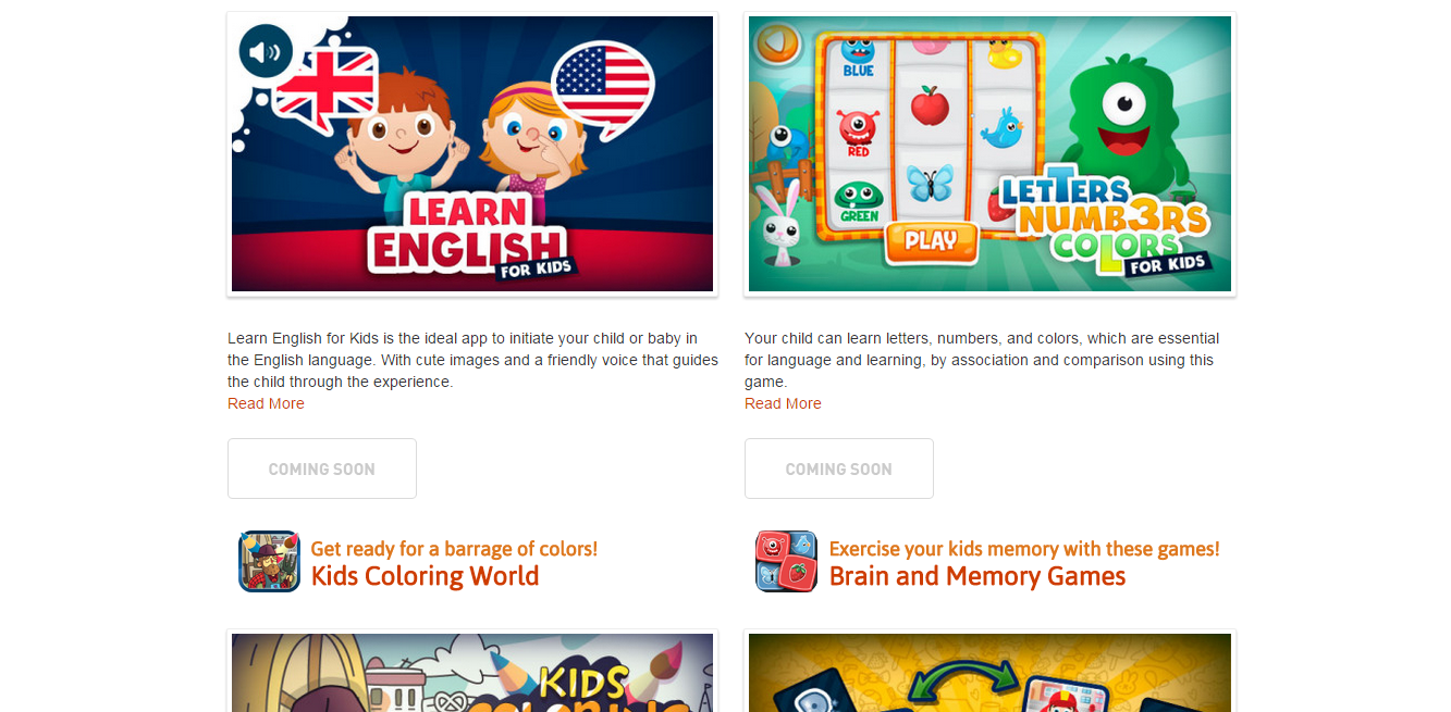 ES>EN translation of app and marketing content for Papumba, an educational game developer.