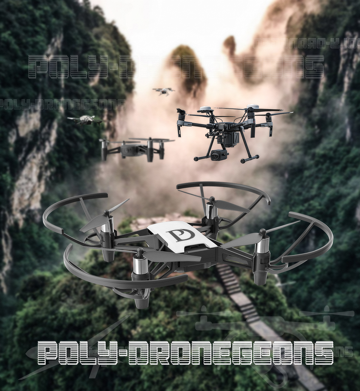 POLY-DRONEGEONS