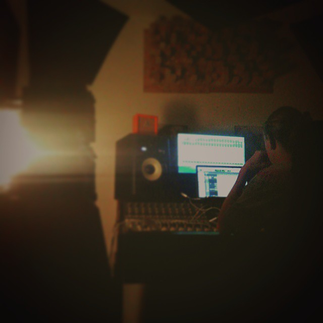 @rossnuttall finalising some mixes to send off to @cpsmastering