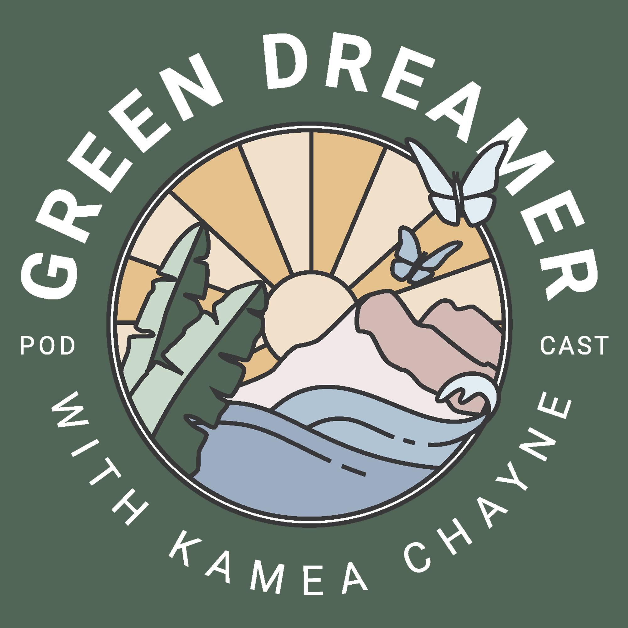sustainability environmental podcasts | green dreamer