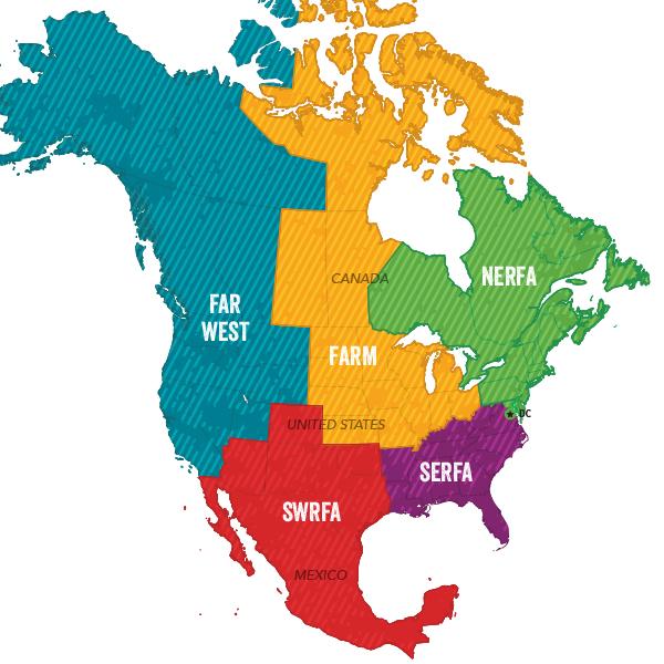 FAI Regions