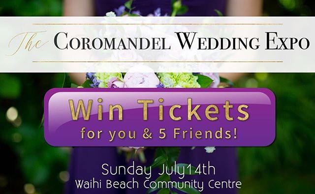 🔥🔥🔥The Coromandel Wedding Expo is BACK! Block out your wedding planning diaries and tell your crew - we are giving away 6 FREE tickets! Tag who you'd take with you if you won! 🔥🔥🔥 Prize tickets drawn @ 5pm 8th July 2019. (you have to like The Bridal Table Facebook Page to be eligible. Tickets not redeemable for cash.) Tickets are now on sale through Eventbrite and all online ticket sales go in the draw to win 1 of 3 'Little White Books' Get your tickets here: (www.eventbrite.co.nz/e/the-coromandel-wedding-expo-2019-tickets-52035633982)  #thecoromandelweddingexpo #coromandelweddings #coromandelweddingshow #coromandelweddingexpo #coromandelweddingvendor #winfreetickets #thebridaltable #thebridaltablenz #eventbritetickets #newzelandweddings