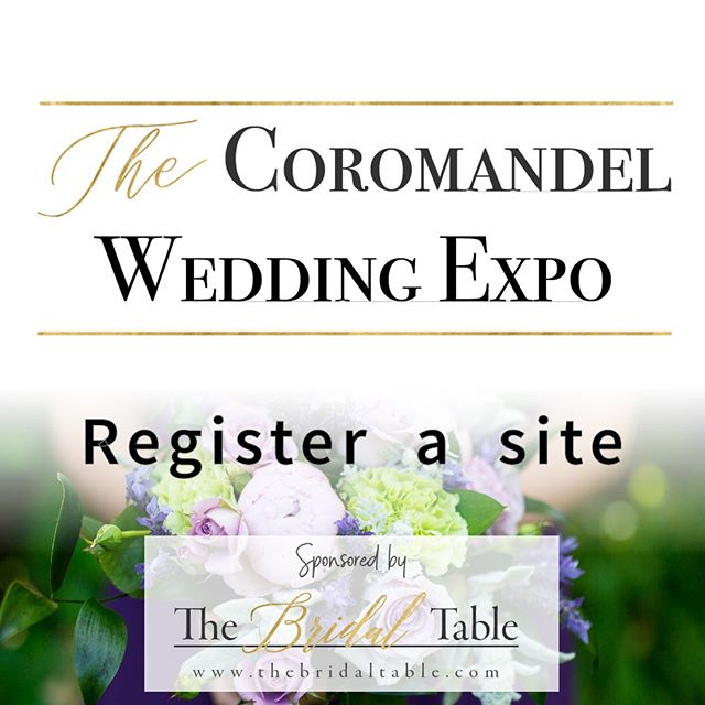 Want a site at the expo to show your bridal brilliance and professional expertise? Register your interest now for an information pack: https://bit.ly/2wyJvlk  #waihibeach #waihiweddings #coromandelweddings #coromandelweddingvendors #coromandel #thames #whitianga #nzweddings