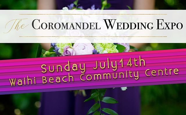 Have you got your tickets to The Coromandel Wedding Expo yet? Online tickets are only $12 each (children under 12 are free!) http://ow.ly/MWmd30p0E4B  #coromandelweddings #nzwedding #nzweddingexpo #nzweddingplanning  #joinus #weddingmakeup #weddingsnz #coromandel  #nzweddings
