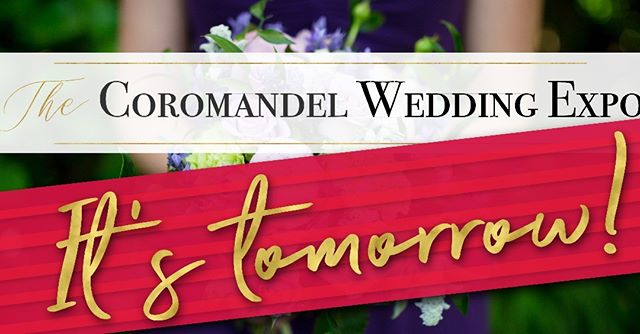 IT'S TOMORROW!  Head to Waihi Beach for a fabulous day out at The Coromandel Wedding Expo.  It's at the Waihi Beach Community Centre on Beach Road - doors open at 10am!  We can't wait to see you! Event Details here: https://www.facebook.com/events/2415354995406226/  #weddingexpo #thecoromandel #coromandel #coromandelnz #coromandelweddings #coromandelweddingshow #waihibeach