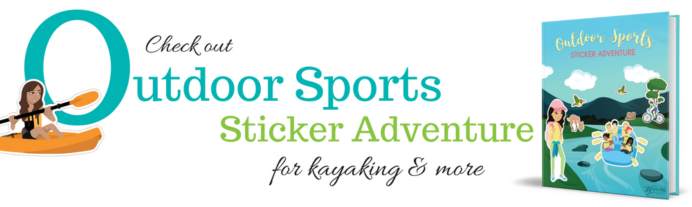 Outdoor Sports Sticker Adventure - Kayaking.png