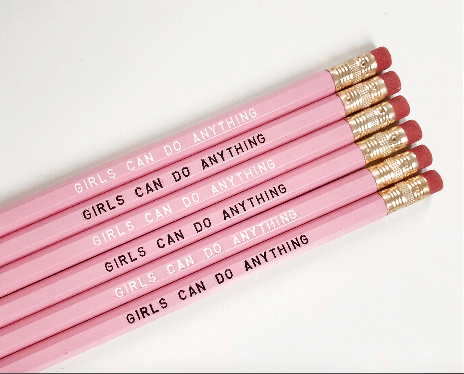 Girls Can Do Anything Pencils