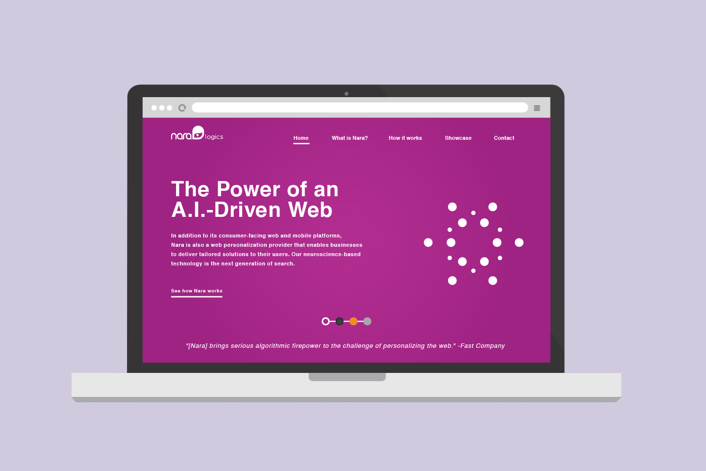 Nara Logics The team created a B2B arm that enabled other companies to integrate the technology into their own e-commerce websites.