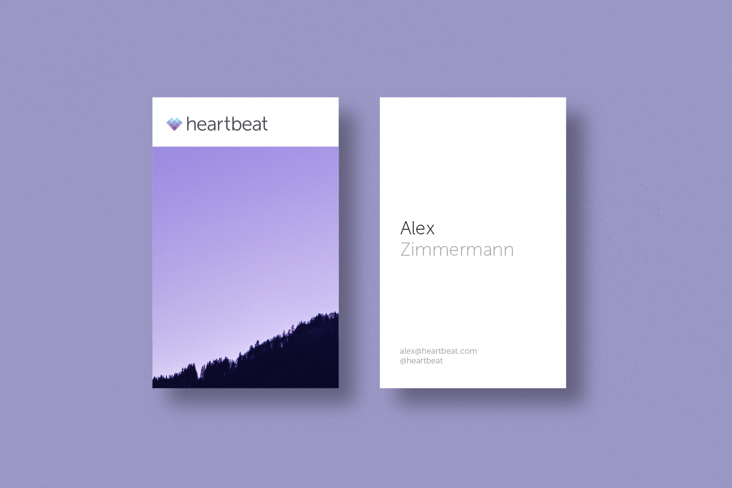 Heartbeat Business Cards