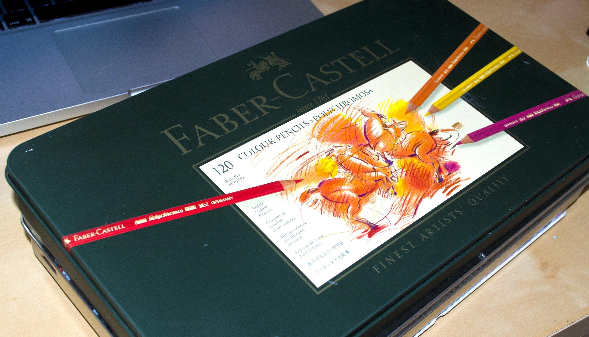 120 Faber Castell Polychromos