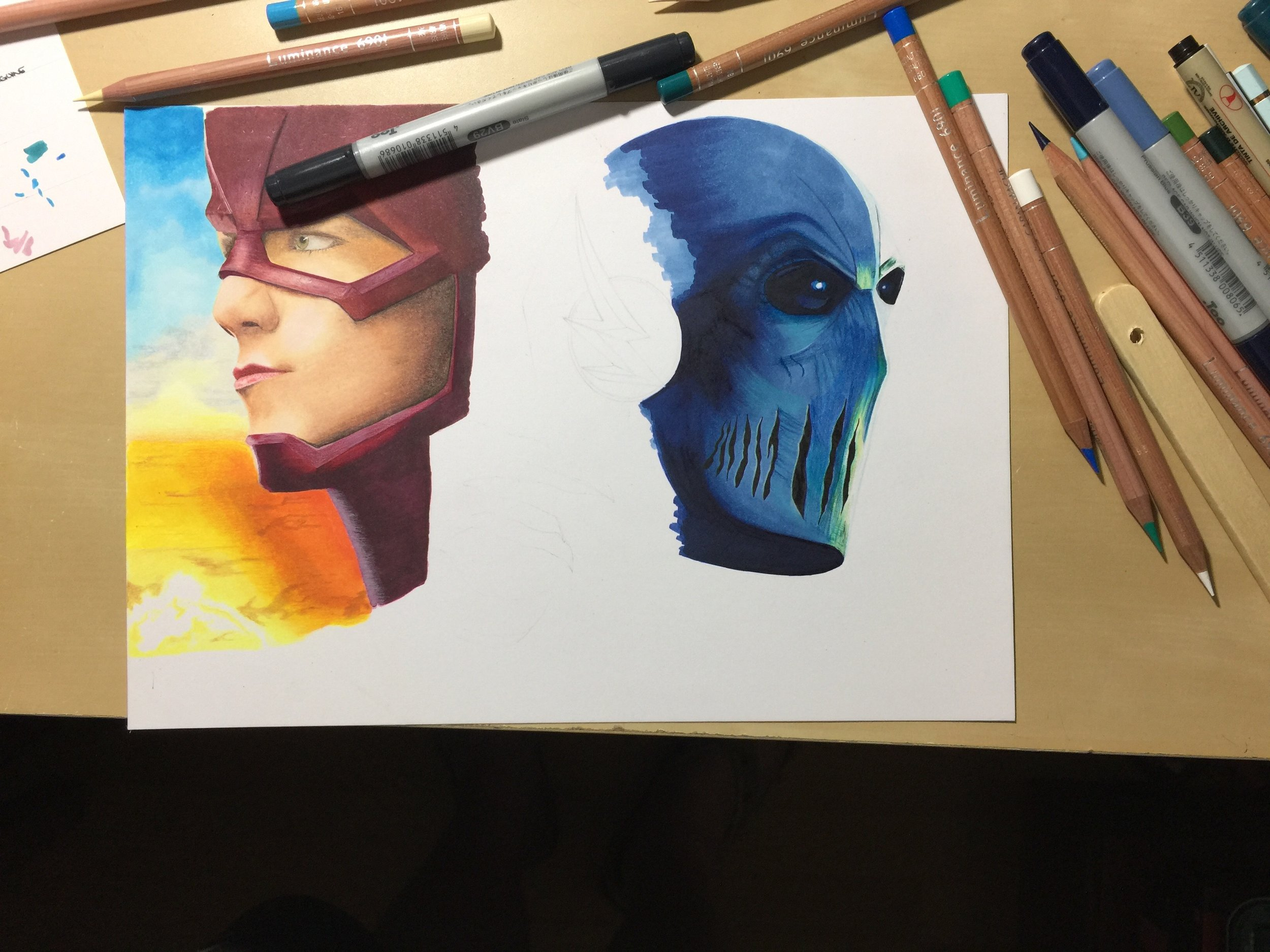 Dc The Flash And Zoom The Art Gear Guide