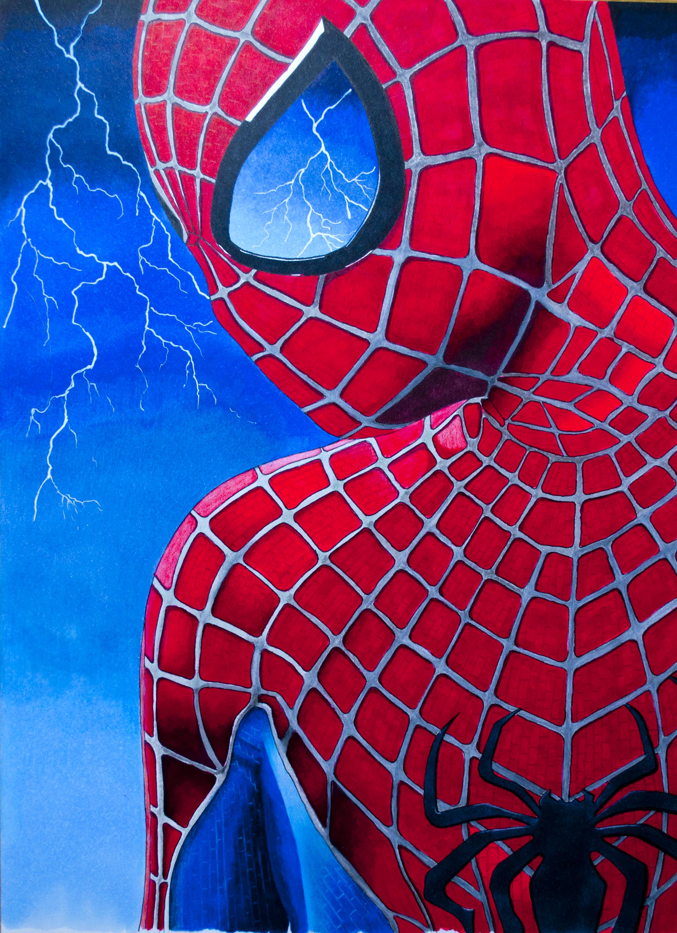 Spiderman Final Image