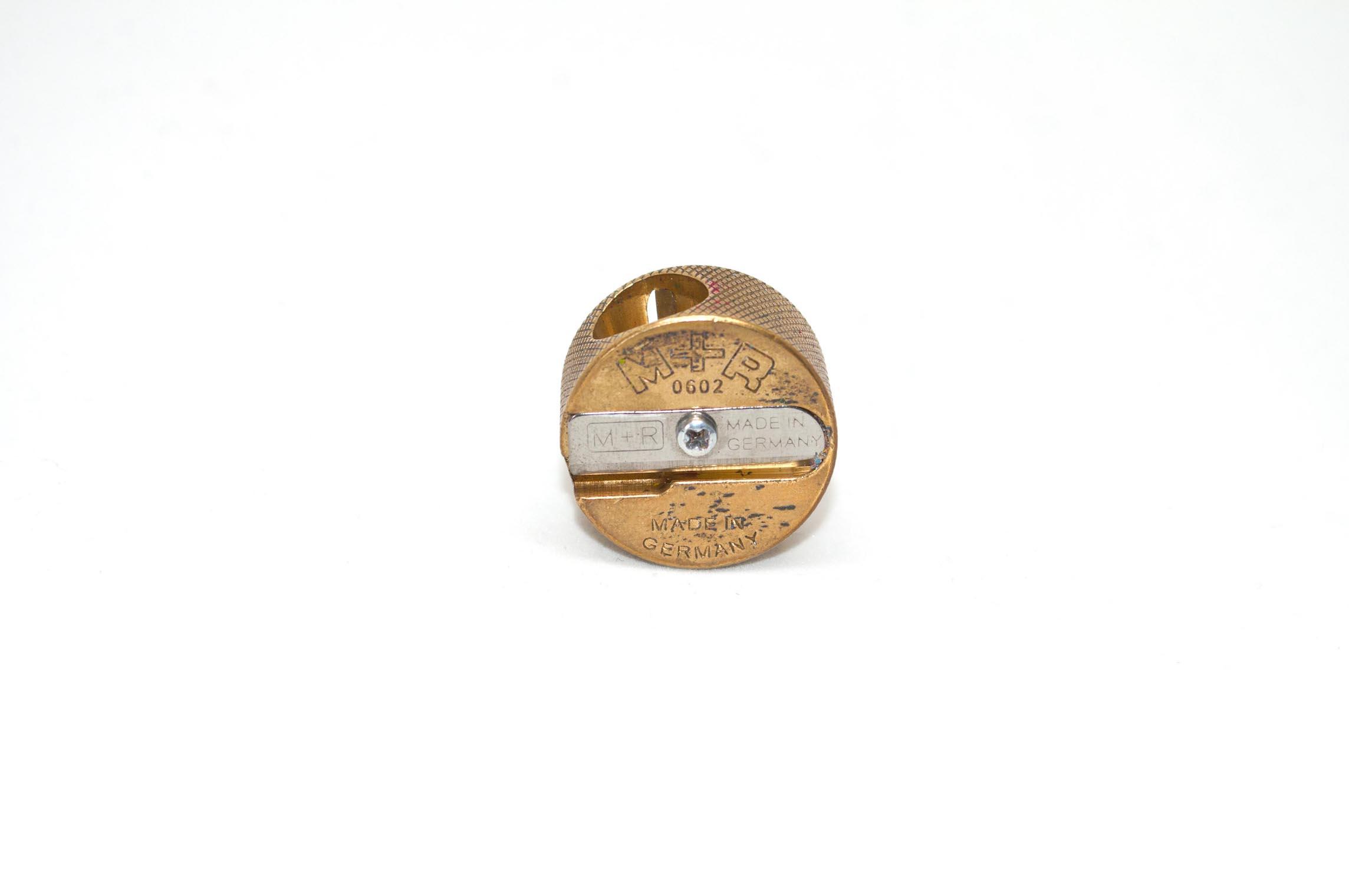 M&R Brass Hand Held Sharpener