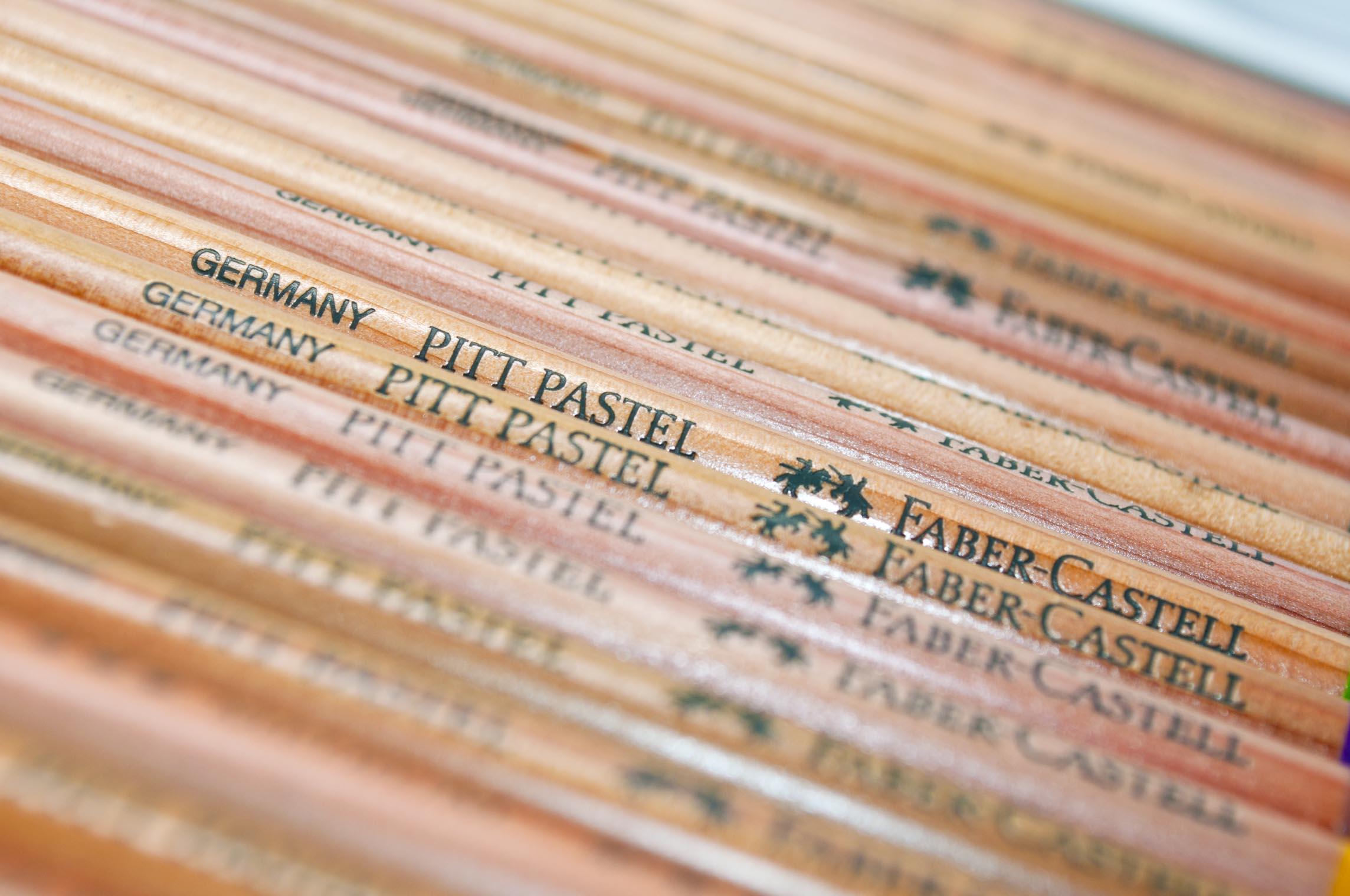 Faber Castell Pitt Pastel Wood Grain Barrel