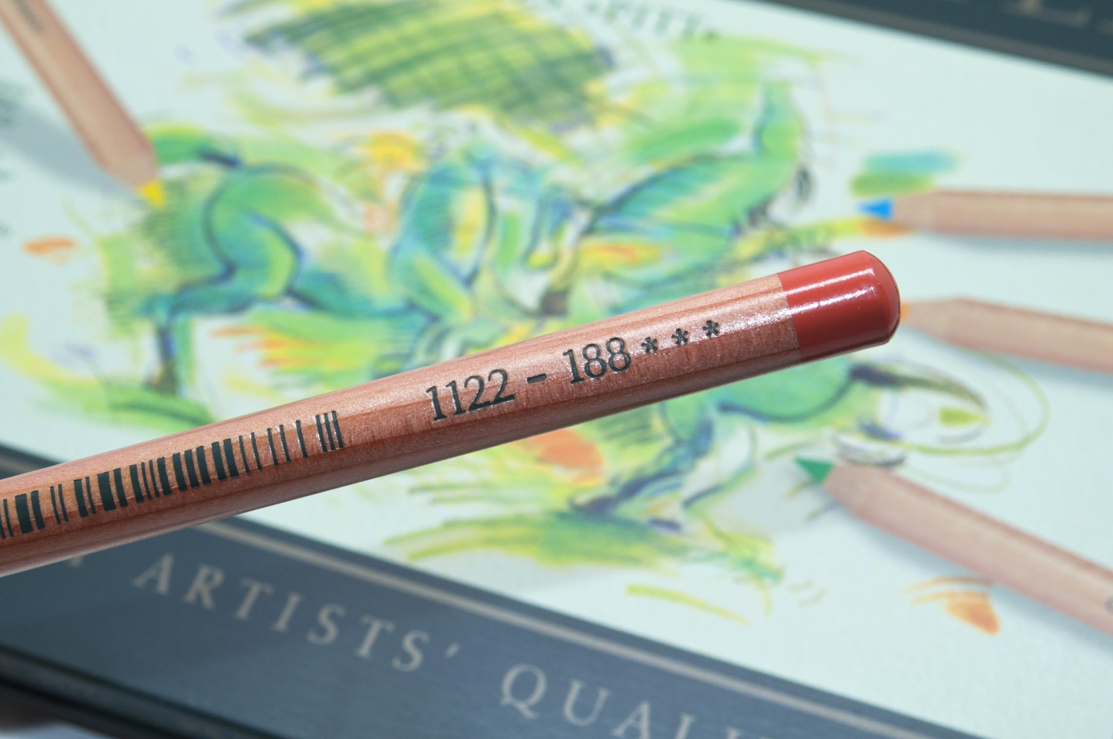 Faber Castell Pitt Pastel Lightfast Information and Open Stock Number.