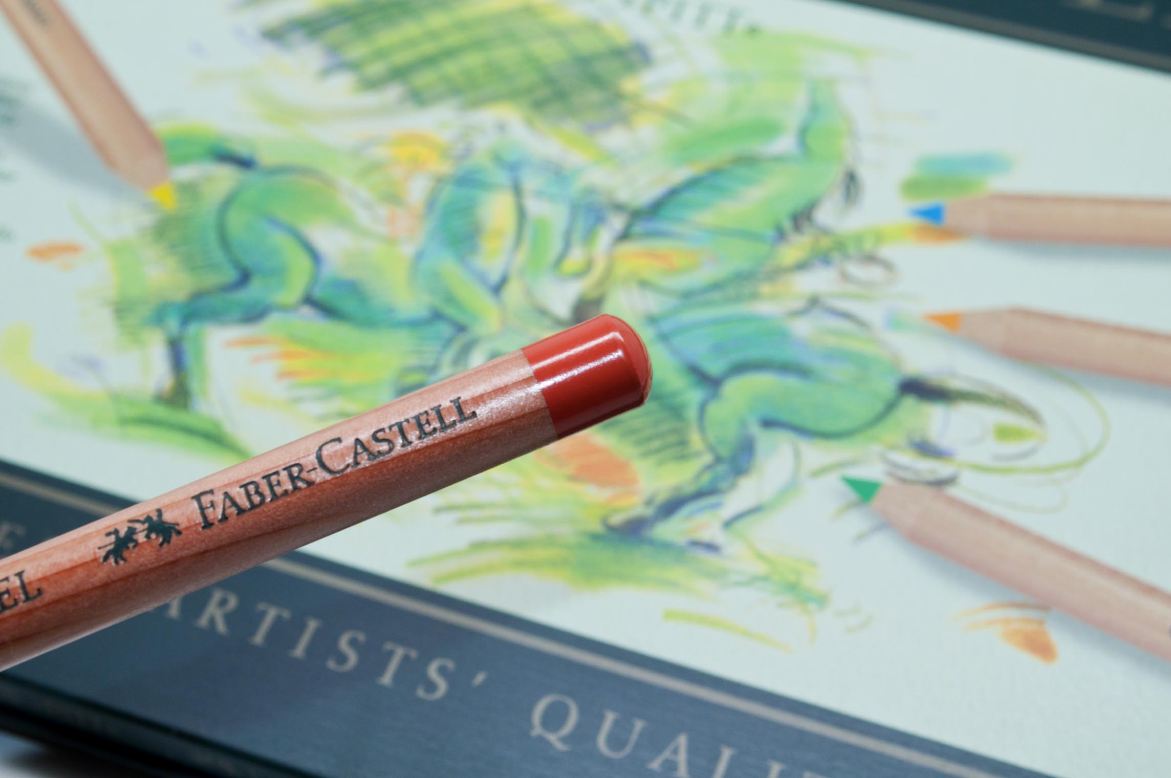 Faber Castell Pitt Pastel Pigment Identifier