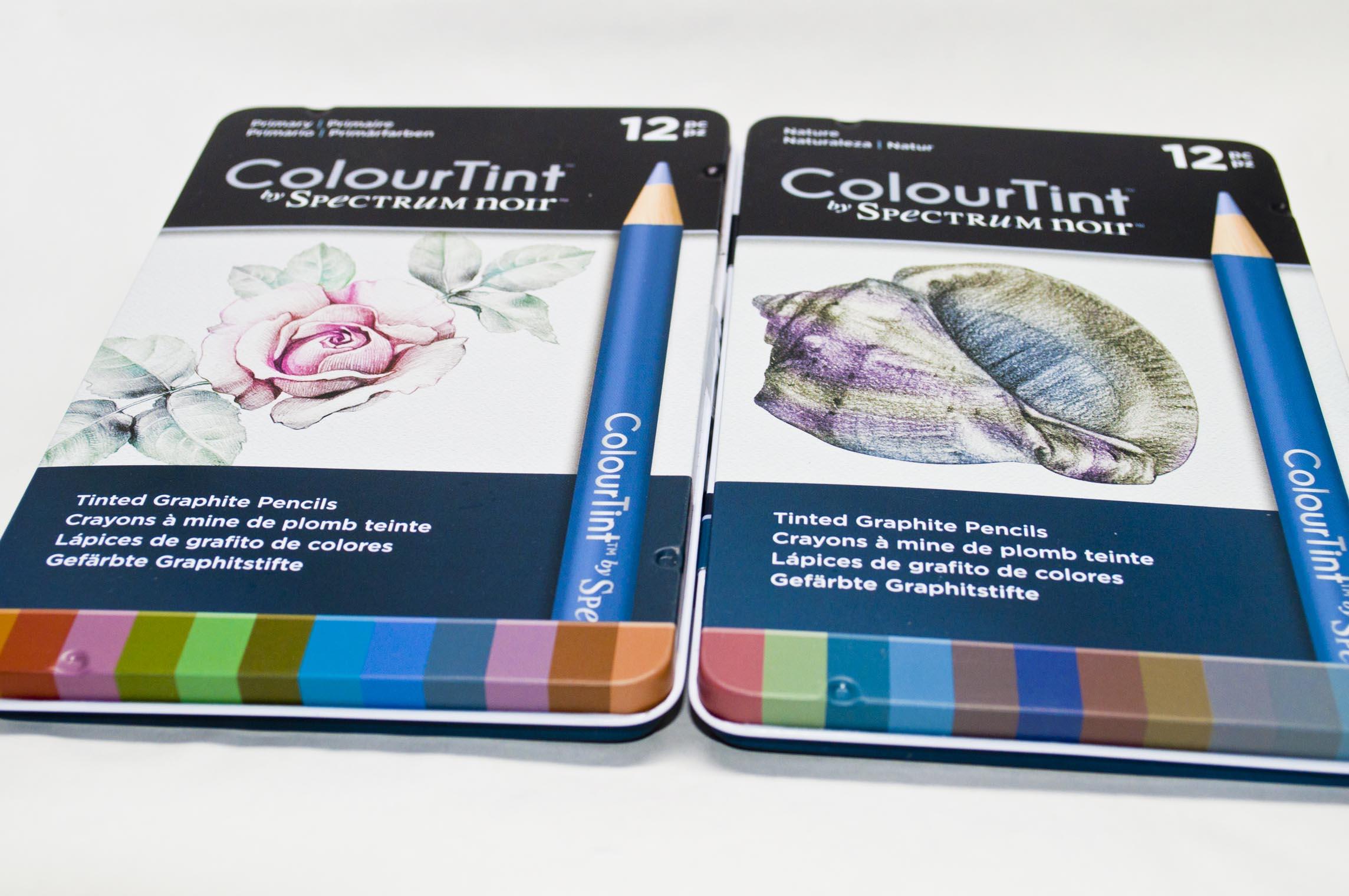 Both 12 Sets Of Spectrum Noir ColourTint