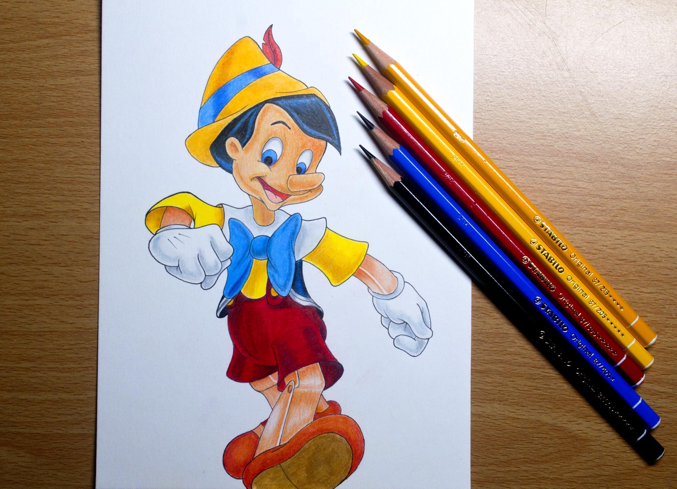 Pinohio With Stabilo Pencils.jpg