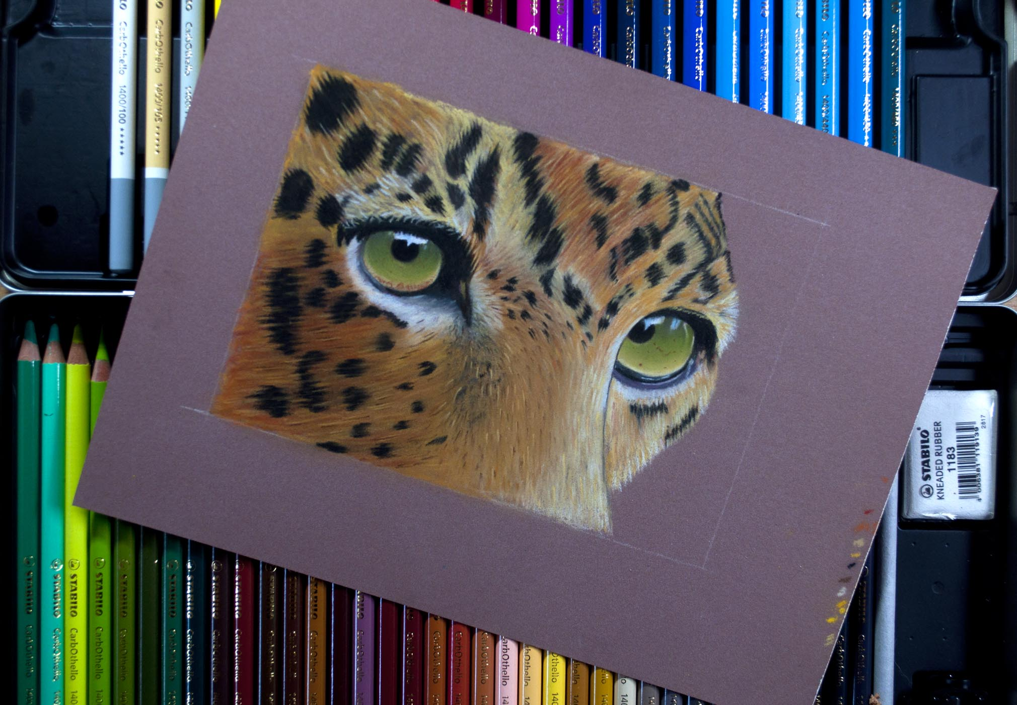 Stabilo Carb Tiger On Tray Of Pencils.jpg