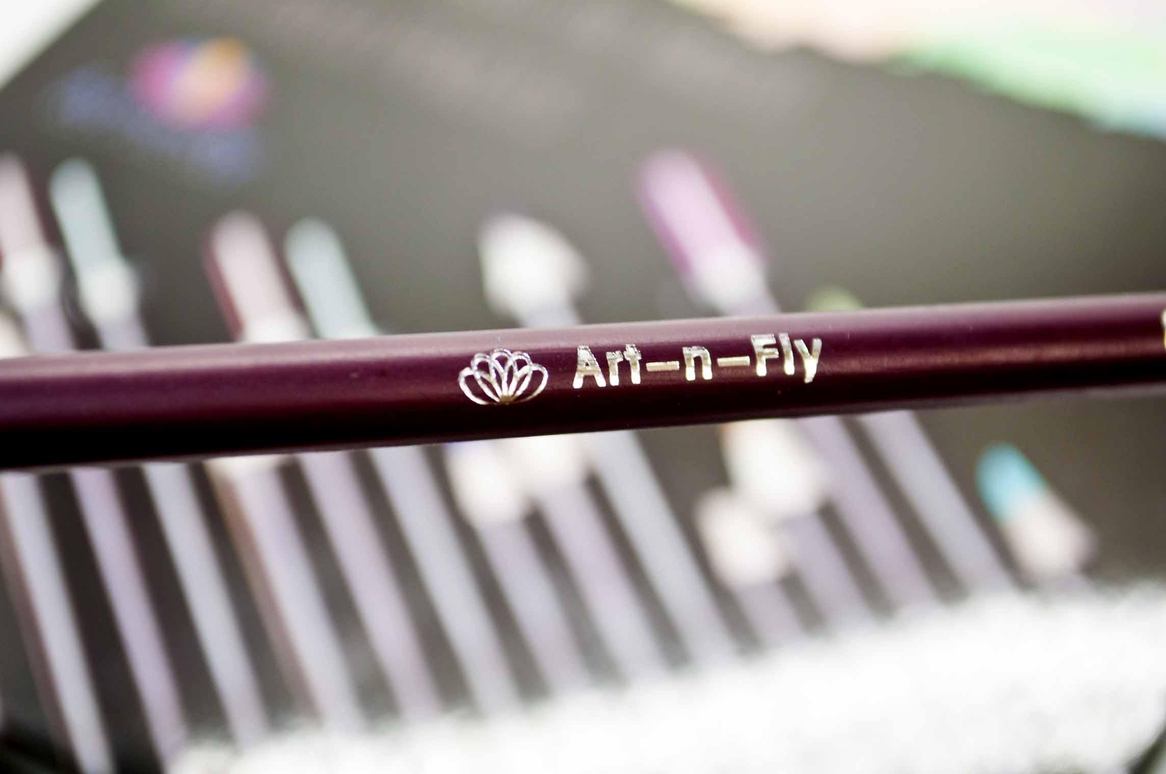 art-n-fly name on the barrel.jpg
