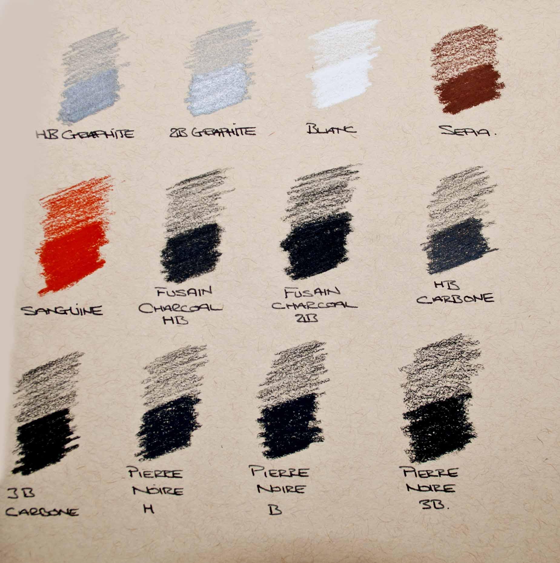 Conte Colour Chart on Tan paper.jpg