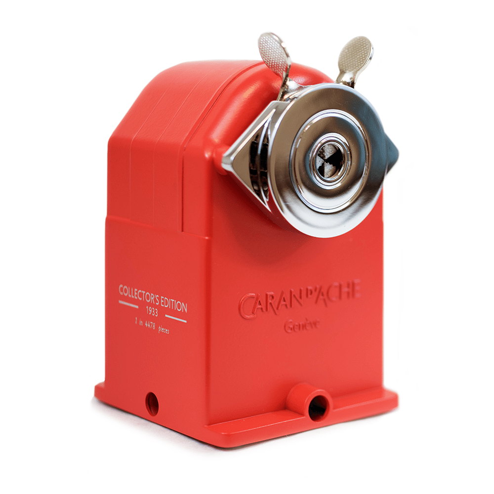 Red Caran Dache Sharpener.png