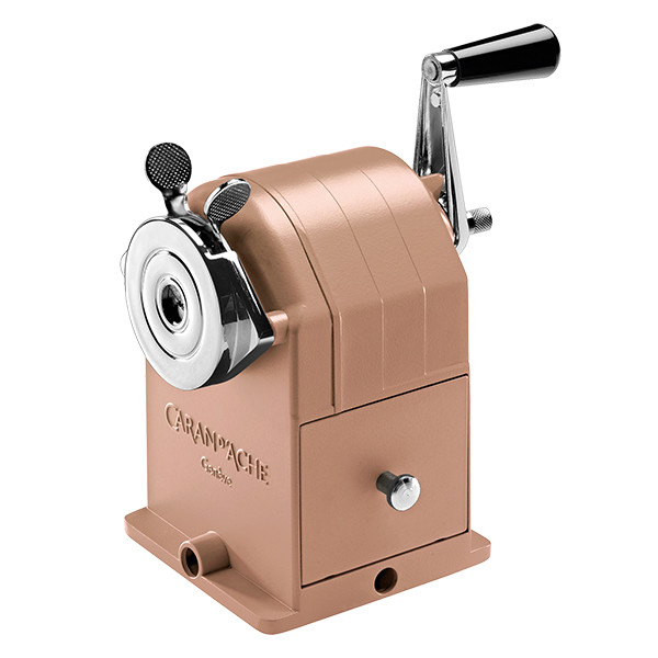 Rose Gold Caran Dache Sharpener.jpg