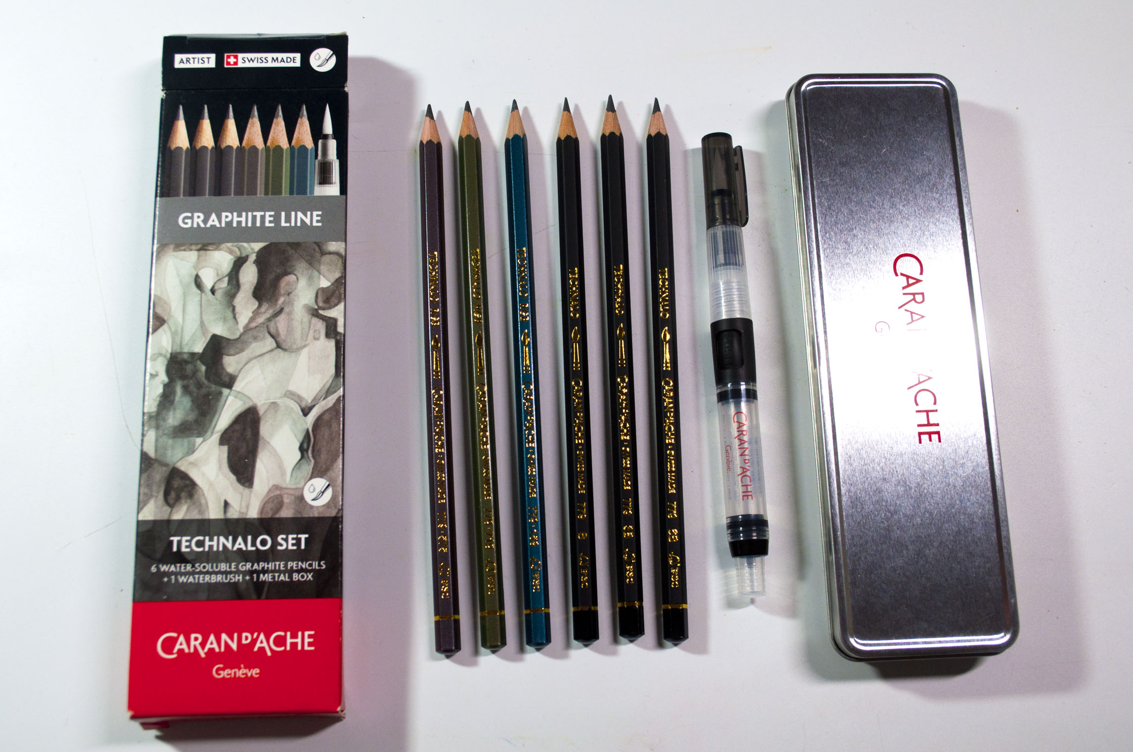 Image result for caran d'ache technalo and water soluble tinted graphite