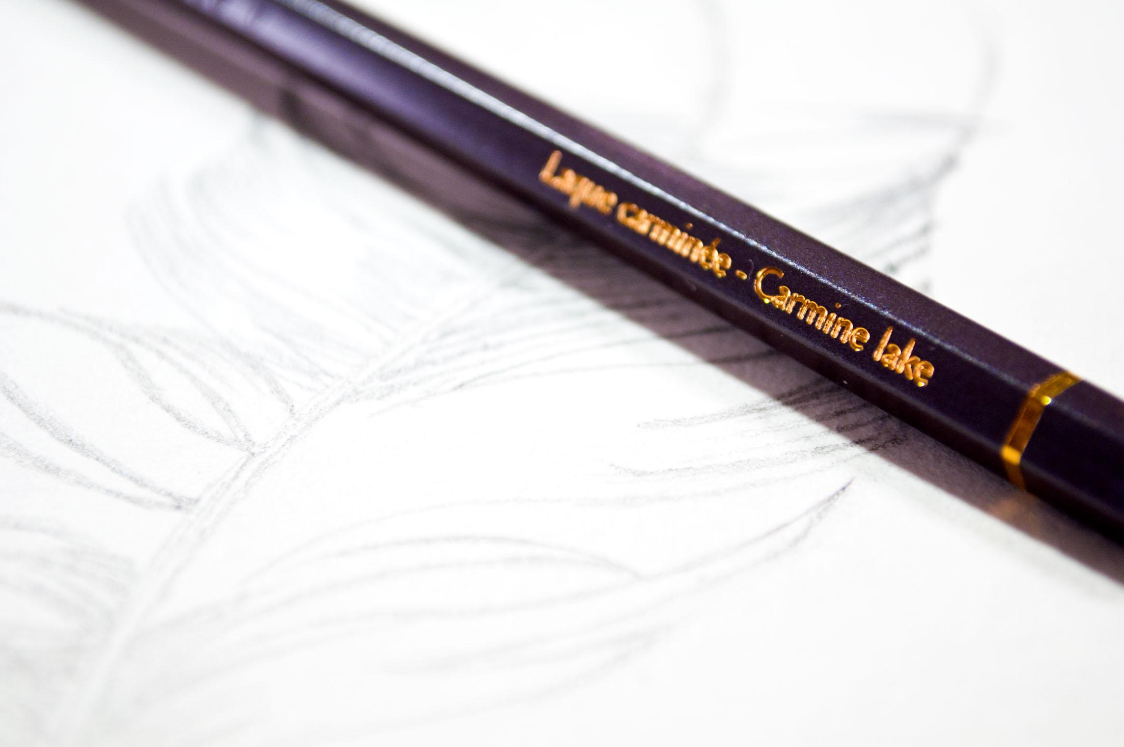 Caran Dache Feather Red Pencil.jpg