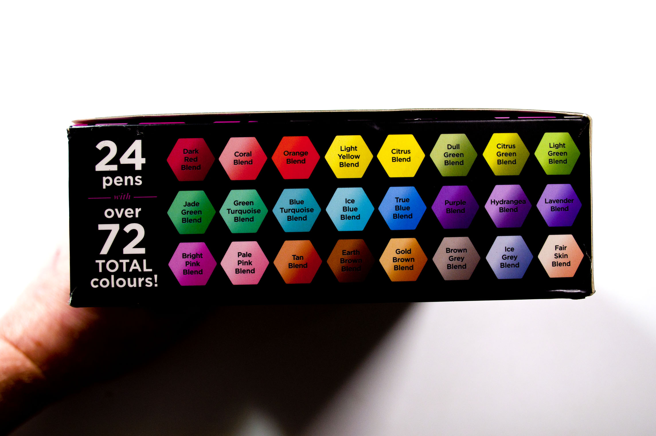 Red Brown Blend Spectrum Noir Tri-Blend Alcohol Based 3 in 1 Marker Pen