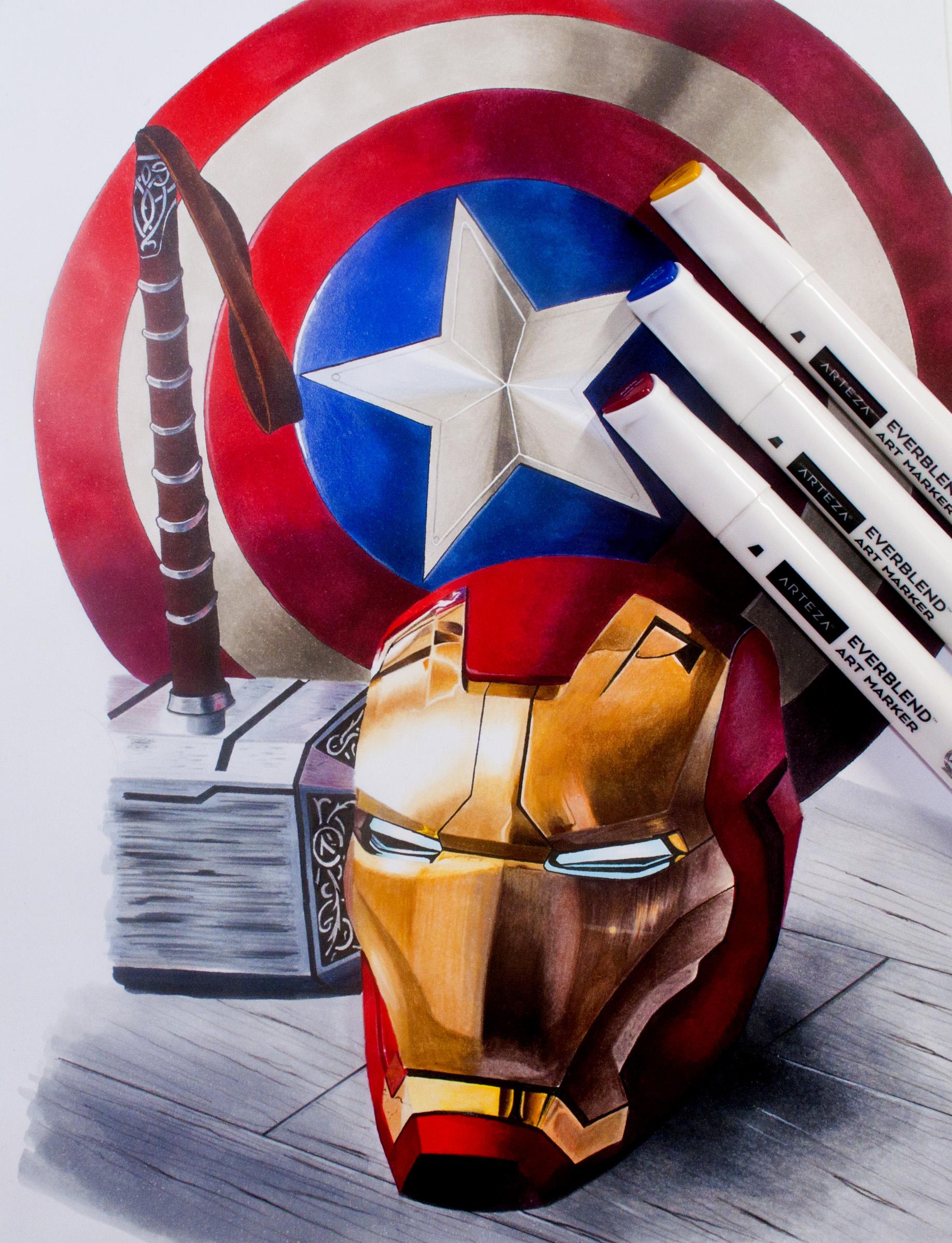 Marvel Image With Arteza Markers.jpg