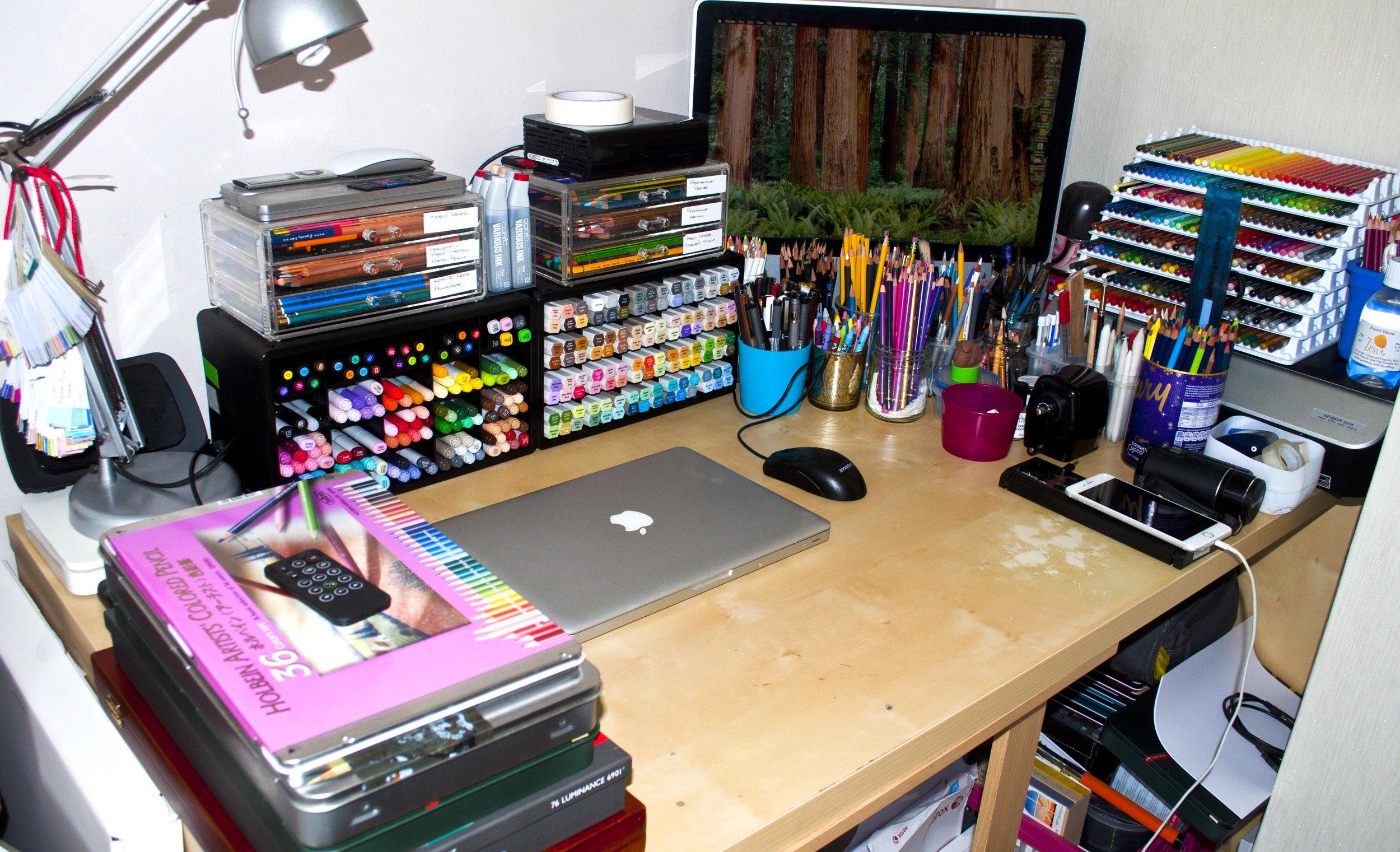 2017 Desk Setup