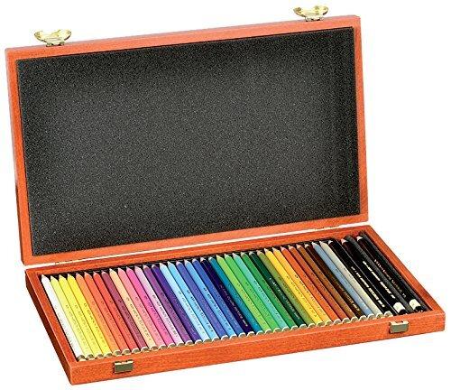 Koh-I-Noor Polycolor 36 Wooden Box Set