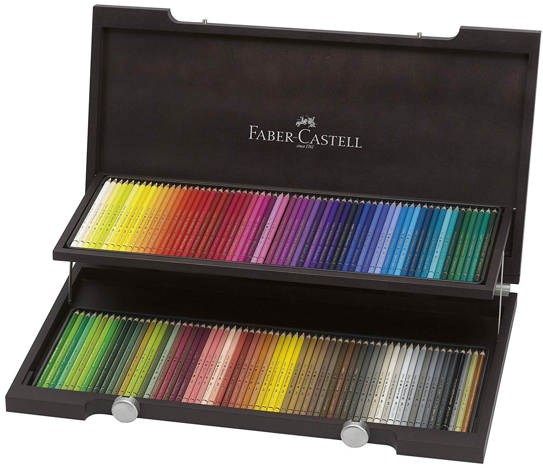 Faber Castell Polychromos 120 Wooden Box Set.jpg