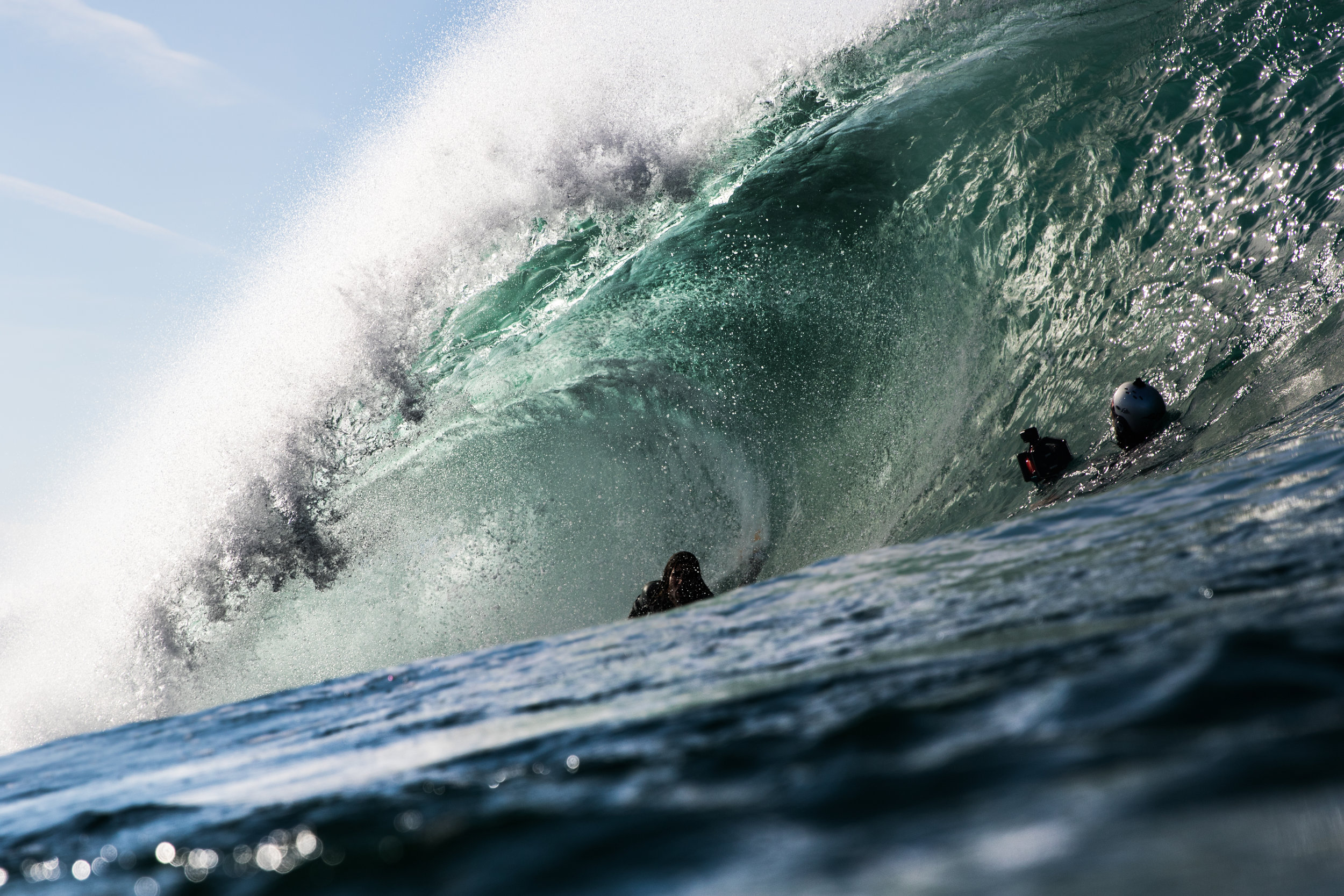 Michal catches Roy van Eijk (@roydebeuker) tucking into a gem of a barrel