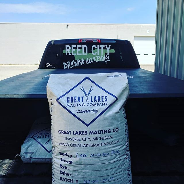 Cheers to @reedcitybc for supporting small farms and brewing delicious beers with Great Lakes Malt.  Without Craft Malt, It's Just Beer! 🌾🍺